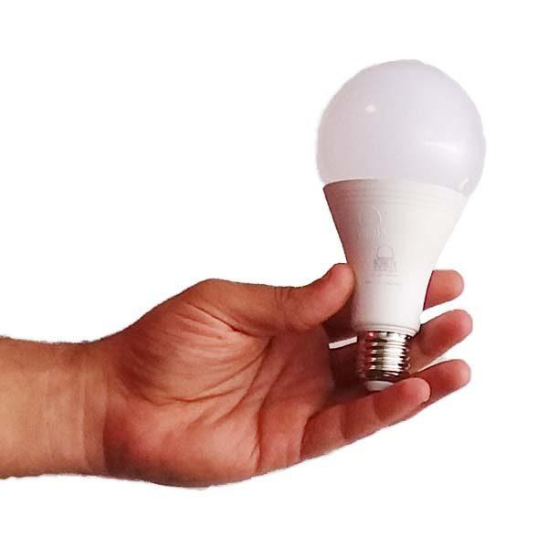 اندازه واقعی لامپ 20 وات (لامپینو)