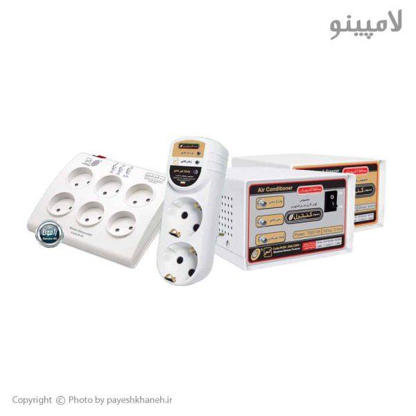 پکیج محافظ خانه (صوتی تصویری، یخچال، فریزر، ماشین ظرفشویی لباس شویی) نمودار کنترل لامپینو (1)