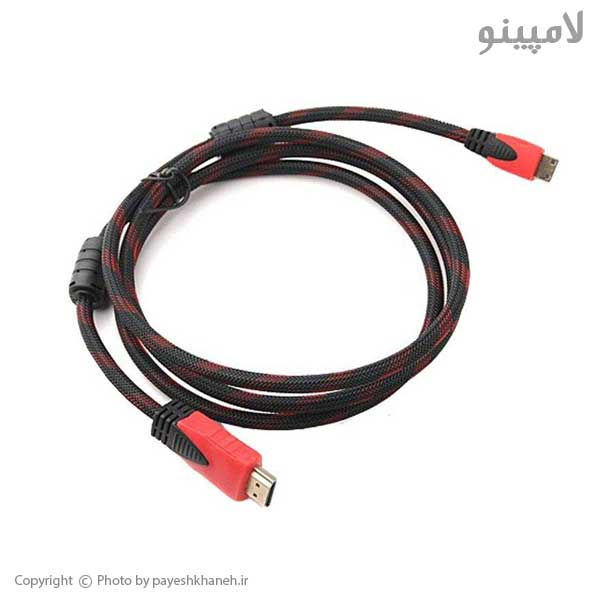 کابل-HDMI-1.5-متری-کنفی-زرهی-لامپینو