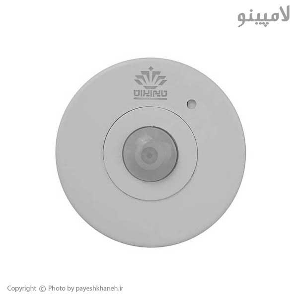 سنسور-حرکتی-سقفی-روکار-360-درجه-تایم-ایران-لامپینو