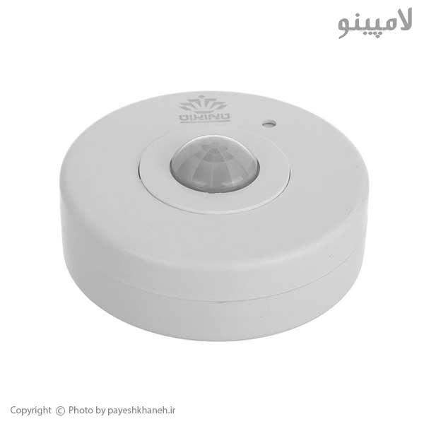 سنسور-حرکتی-سقفی-روکار-360-درجه-تایم-ایران-لامپینو2